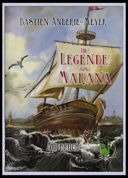 Die Legende von Marana - Cover by Anderie-Meyer