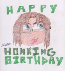 Happy Honking Birthday Russ by leoninja97