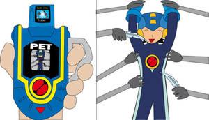 Megaman Tickled