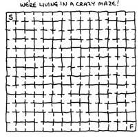 Crazy Maze by tommythefly