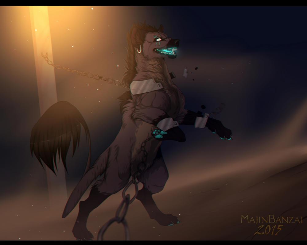 .:Freedom of the hyena:. by MajinBanzai
