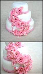 SweetKrissy- Cake by HanaClayWorks