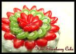 Kiwi Strawberry Cake