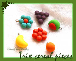 Trix cereal charms