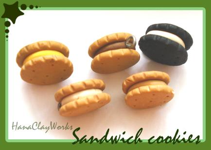 Mini Sandwiches by HanaClayWorks