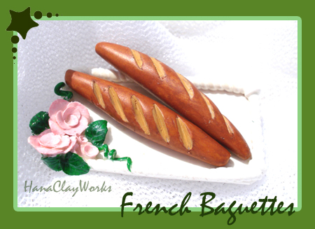 baguettes by HanaClayWorks