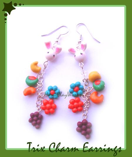 Trix Earrings by HanaClayWorks