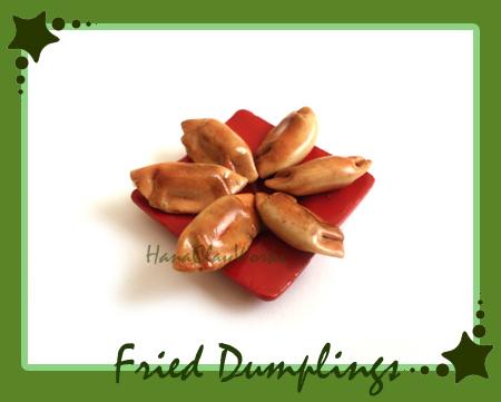 Fried Dumplings by HanaClayWorks