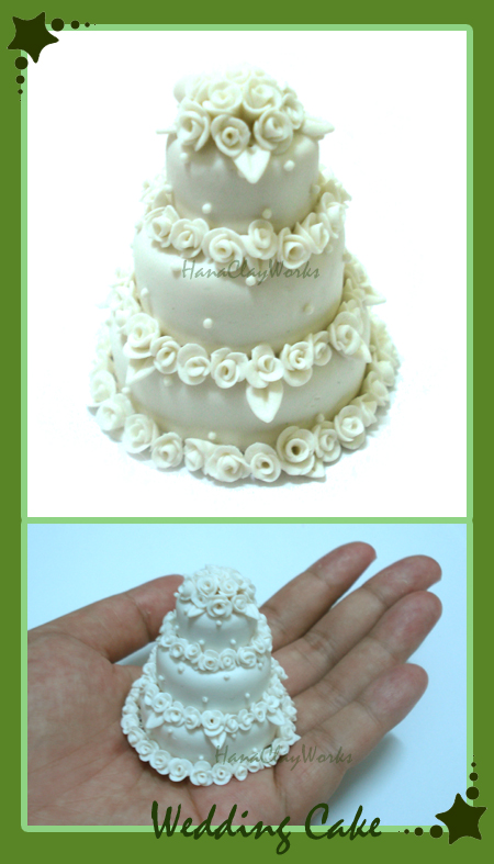 Wedding Cake Without Icing