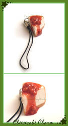 Cheesecake Charm - Commission by HanaClayWorks