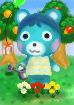 Bluebear Animal Crossing