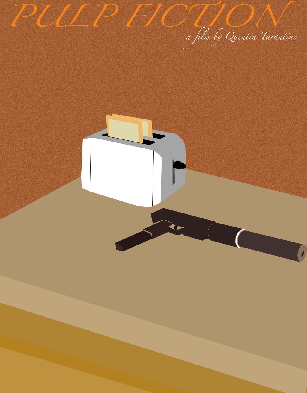 Minimalist Movie Poster Pulp Fiction By James Westenbroek