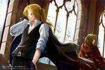Fullmetal Alchemist fan art by darkmello