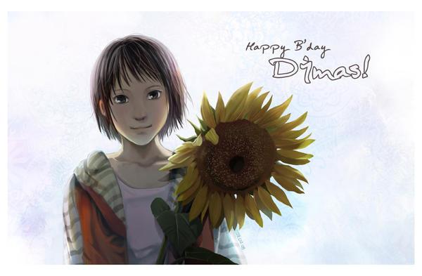 Happy Birthday Dimas by darkmello