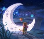 Found a Moon by darkmello