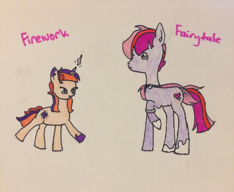 Firework and Fairytale  by nevaehchibi200