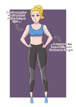 Weight Gain Sequence - Amber - Part 2