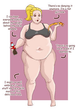 Weight Gain Sequence - Amber - Part 6