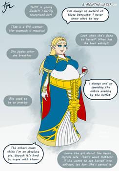 Zelda [BotW] - Weight Gain Sequence - Part 3