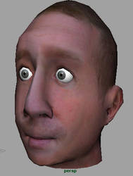 3D Head by ThankYouComeAgain