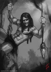 Tarzan The Ape Man by mirzafurqan