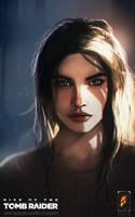 Lara Croft  by mirzafurqan