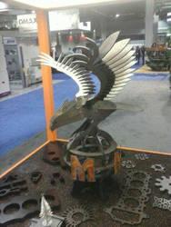 metal eagle display 2