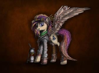 Steampunk Chemi pony :) by J3rykCZ