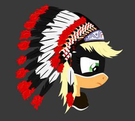 Chief Applejack :3 by J3rykCZ