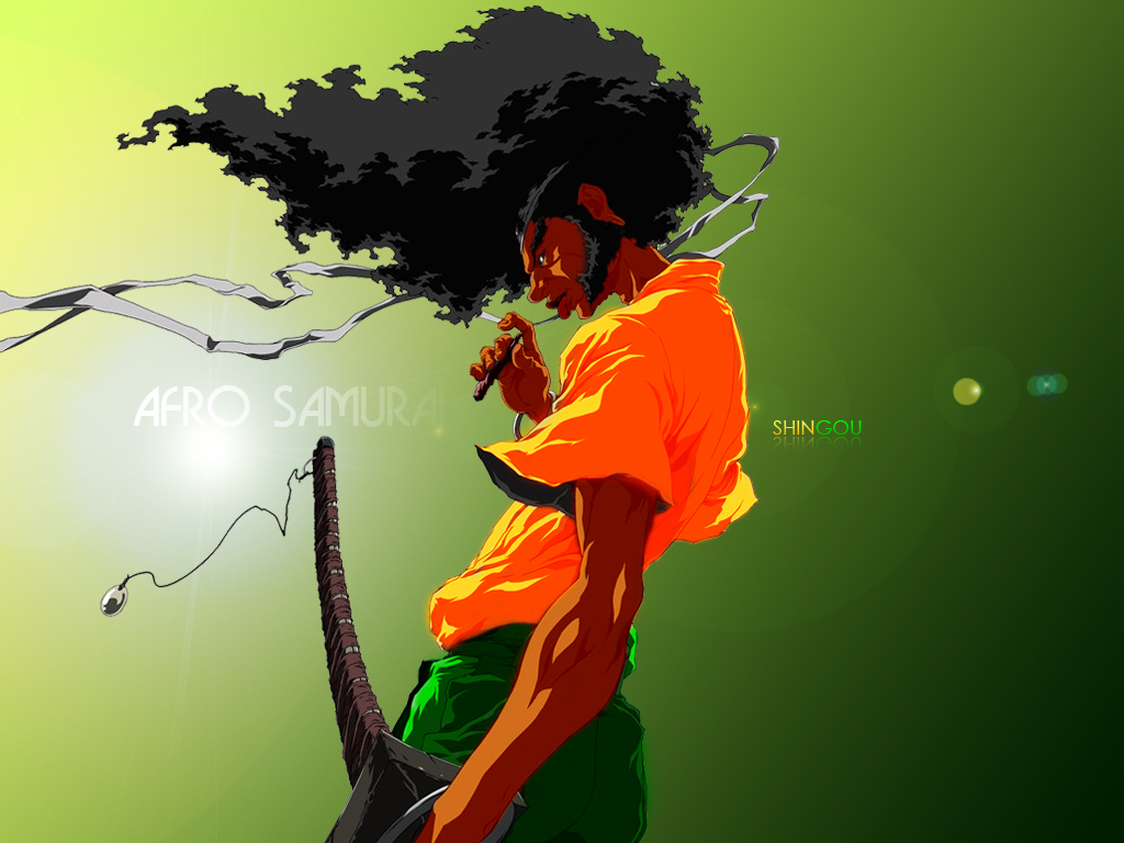 Afro Samurai by shingou