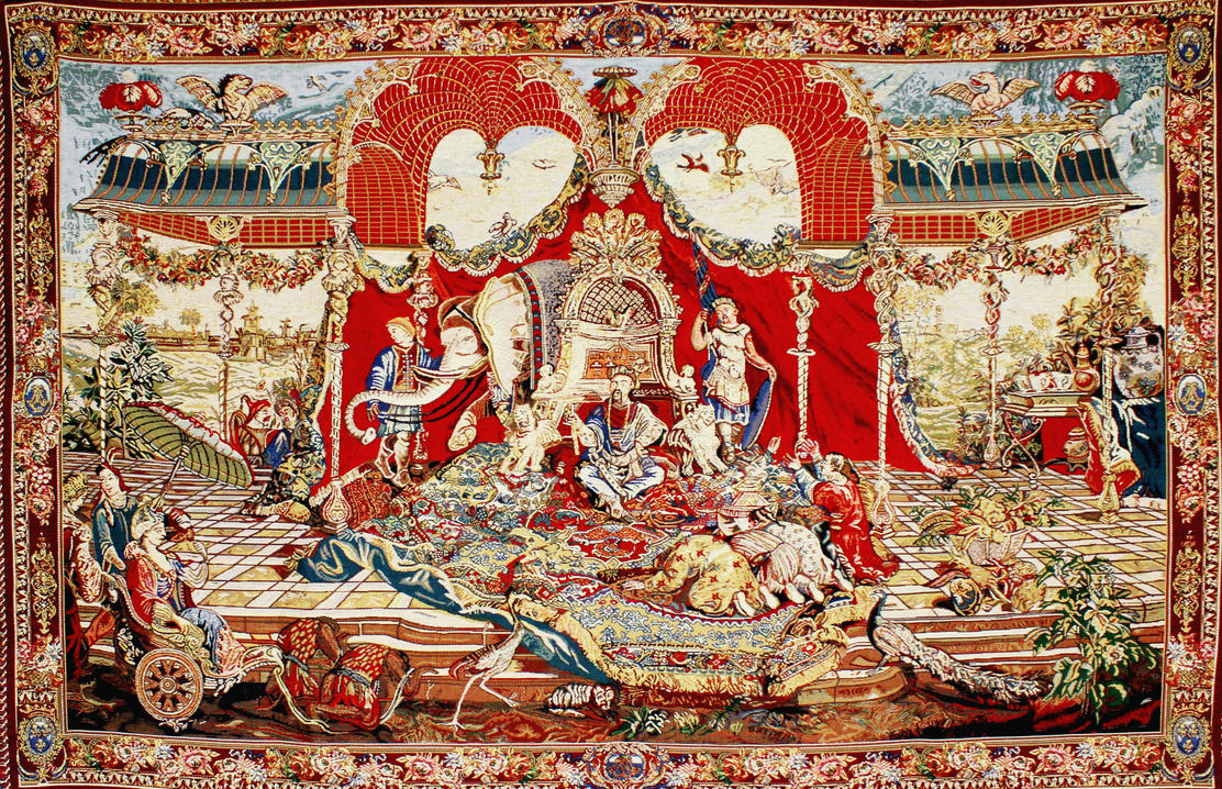 Audience of the Prince by SaveOnTapestries
