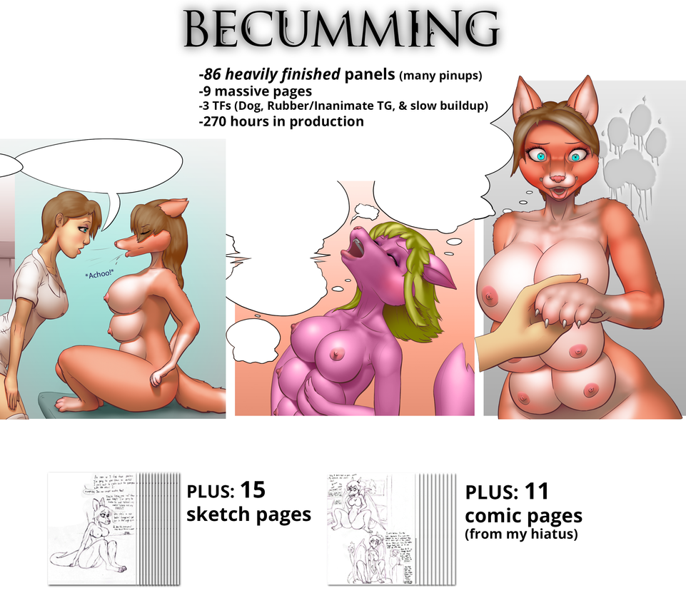 Becumming [TF/TG/Inanimate] Comic Release by bendzz