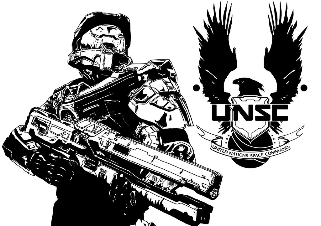 Halo Unsc Symbol Halo: unsc by deadpoolmanik12