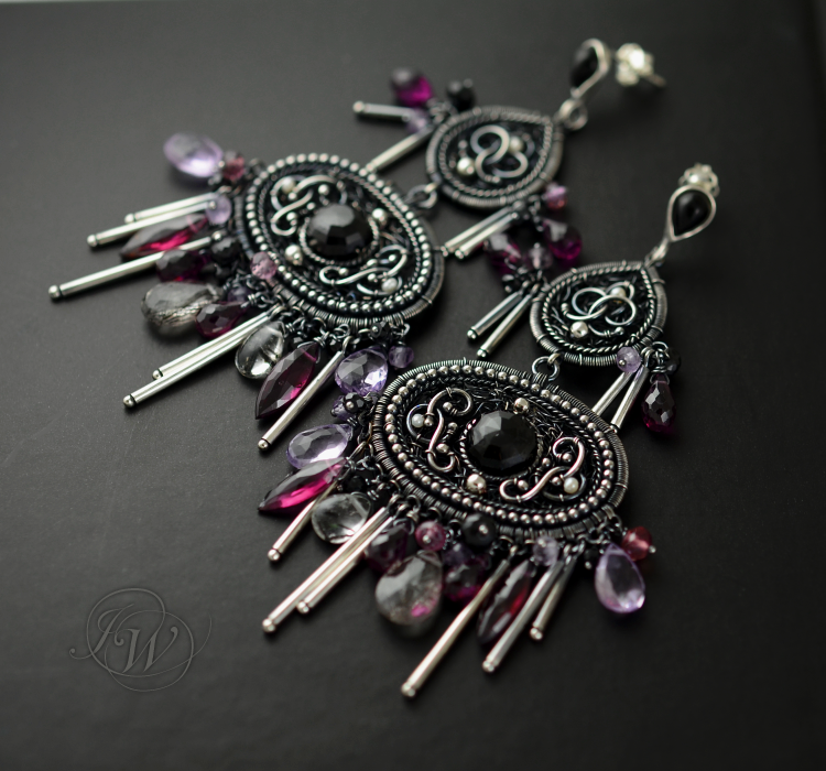 Gyspy Melody II - earrings by JoannaWatracz