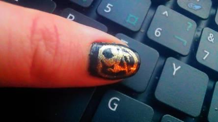 Mockingjay Nails(more angles)
