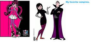 My top 3 favorite Vampires.