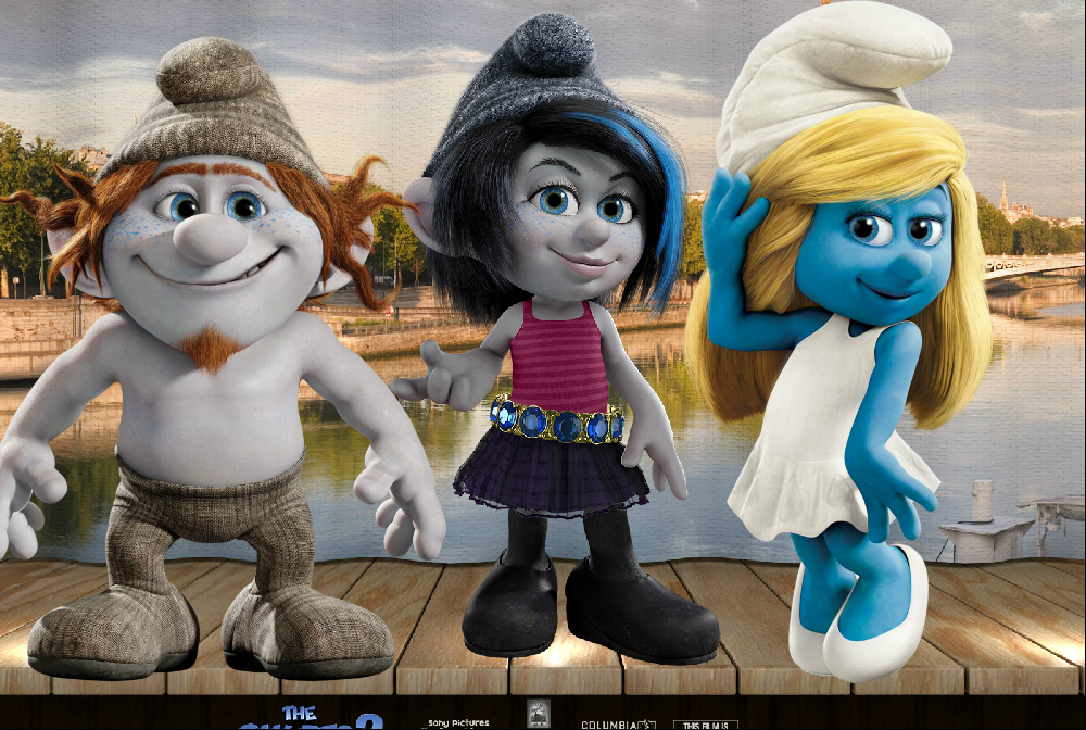 The Smurfs 2 Vexy Hackus And Smurfette By Smurfette123 On Deviantart