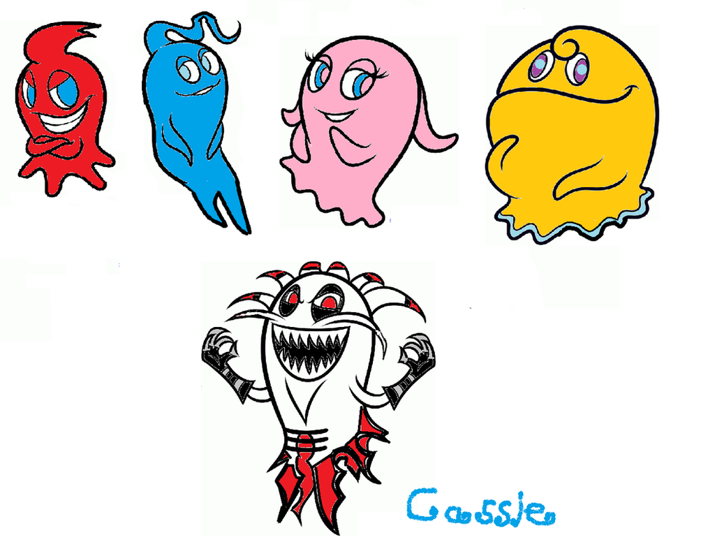my fav characters from the new pac man show by smurfette123