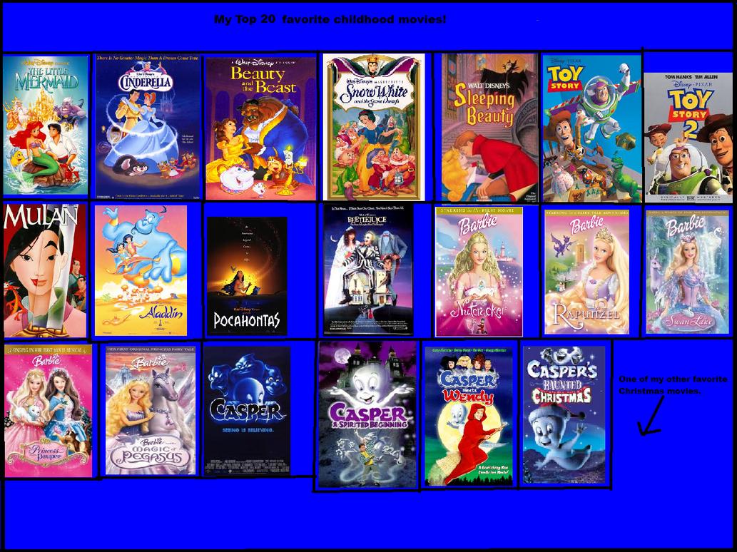 my top 20 fav childhood movies by smurfette123 on deviantart