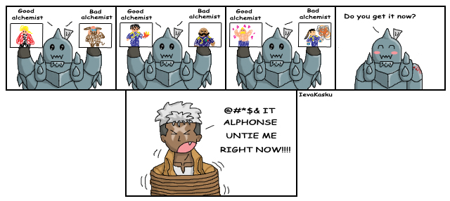 Good Alchemist Bad Alchemist