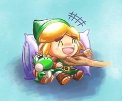 Sleep tight little hero ~ zzz