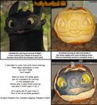HTTYD Dragon Halloween Pumpkin