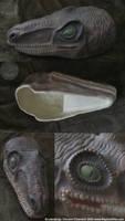Ceramic Raptor Mask