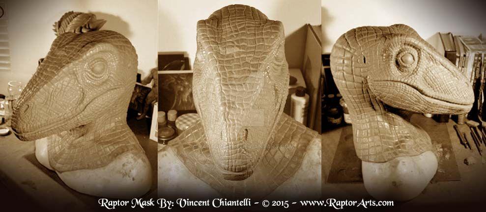 Raptor Mask Sculpt Complete by RaptorArts