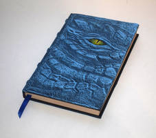 Blue dragon Grimoire Sketchbook journal
