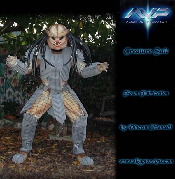 AVP Celtic Predator Costume by RaptorArts ... & AVP Celtic Predator Costume by RaptorArts on DeviantArt