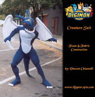 Digmon Exveemon dragon by RaptorArts