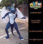 Digmon Exveemon dragon