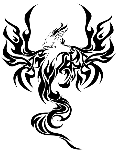 Phoenix Tattoo by totalrandomness on deviantART