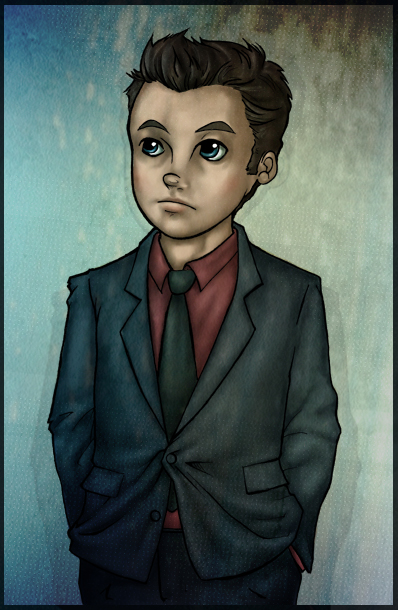 'Lil Ianto coloured by Totalrandomness
